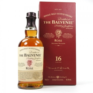 Balvenie Rose 16 Year Old / Second Edition Front