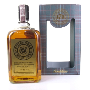 Invergordon 1973 Cadenhead's 43 Year Old
