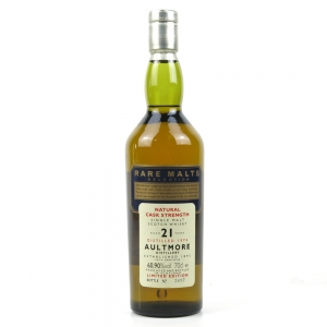Aultmore 1974 Rare Malt 21 Year Old 60.9%