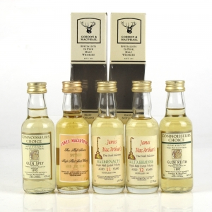 Miscellaneous Speyside Single Malt Selection 5 x 5cl