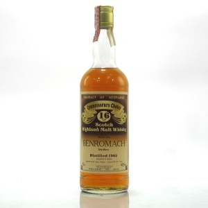 Benromach 1965 Gordon and MacPhail 16 Year Old / Co. Pinerolo Import