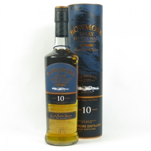 Bowmore Tempest 10 Year Old Batch #1 front