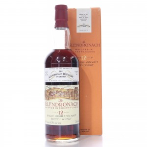 Glendronach 12 Year Old Sherry Casks 1980s