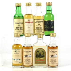 Miscellaneous Campbeltown and Ledaig 8 x 5cl