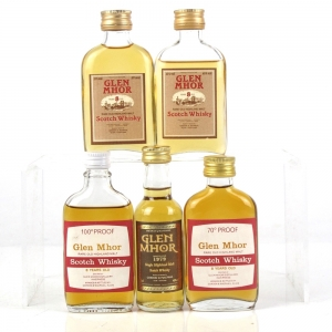 Glen Mhor Single Malt Miniatures 5 x 5cl