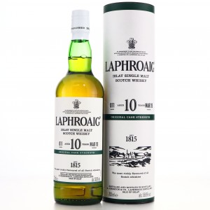 Laphroaig 10 Year Old Cask Strength Batch #011
