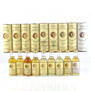 Miscellaneous Signatory Vintage Single Malt Selection 9 x 5cl