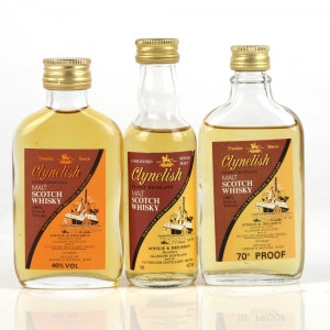 Clynelish Ainslie and Heilbron Miniature Selection 3 x 5cl