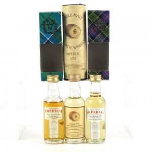 Imperial Single Malt Miniatures 3 x 5cl