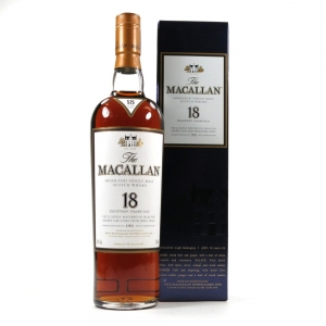 Macallan 1991 18 Year Old Front