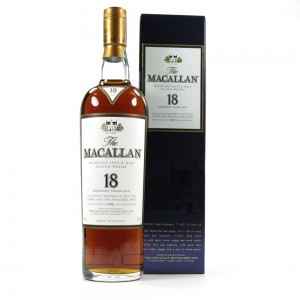 Macallan 1992 18 Year Old Front