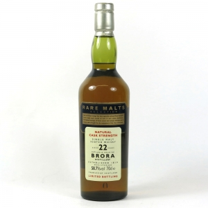 Brora 1972 Rare Malt 22 Year Old front