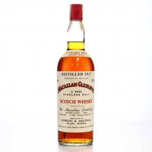 Macallan 1937 Gordon and MacPhail 37 Year Old / Co. Pinerolo Import