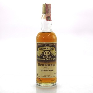 Benrinnes 1968 Gordon and MacPhail 14 Year Old