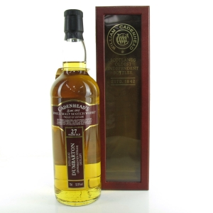 Dumbarton 1987 Cadenheads 27 Year Old