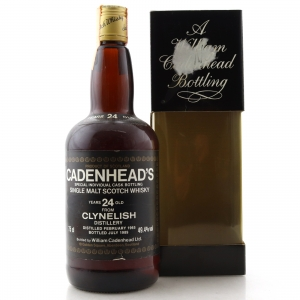 Clynelish 1965 Cadenhead's 24 Year Old