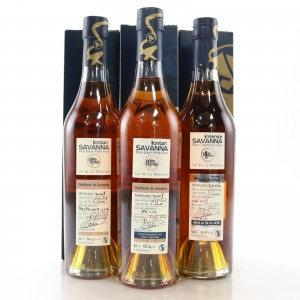 Savanna Single Cask Selection 3 x 50cl