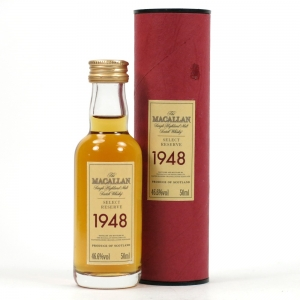 Macallan 1948 Select Reserve Miniature Front