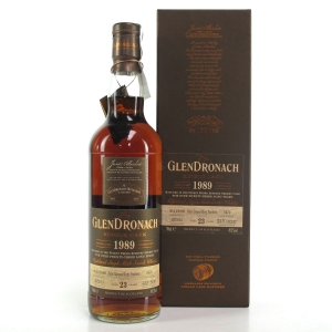 Glendronach 1989 Single Cask 23 Year Old #5470