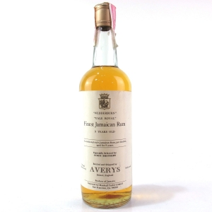 Vale Royal Wedderburn Jamaican Rum Averys for Corti 9 Year Old 1970s / US Import