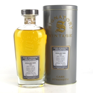Highland Park 1985 Signatory Vintage 21 Year Old Cask Strength