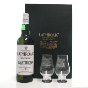 Laphroaig Quarter Cask Gift Pack / Including Two Glasses