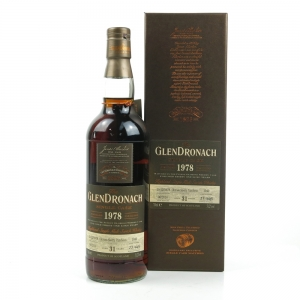 Glendronach 1978 Single Cask 31 Year Old #1040