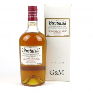 RETAKE DAMAGE PIC Strathisla 1967 Single Cask Gordon and MacPhail #6112