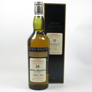 Royal Brackla 1978 Rare Malt 20 Year old
