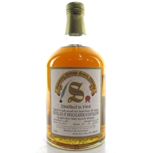Bruichladdich 1968 Signatory Vintage 28 Year Old / 75cl / US Import