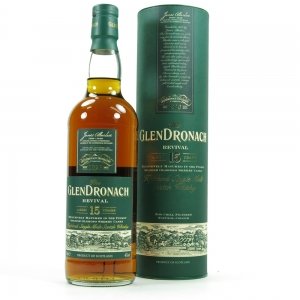 Glendronach 15 Year Old Front