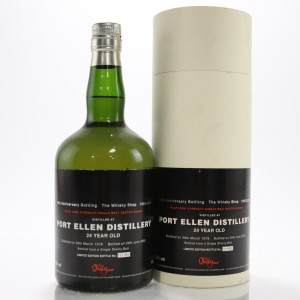 Port Ellen 1978 Whisky Shop 24 Year Old / 10th Anniversary