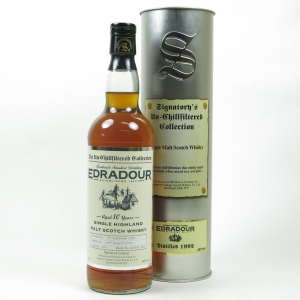 Edradour 1992 Signatory Vintage 10 year Old Front