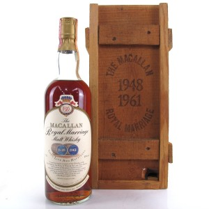 Macallan Royal Marriage 1981 / Rinaldi Import