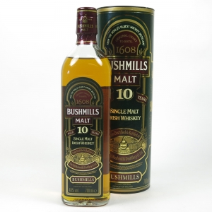 Bushmills 10 Year Old Single Malt