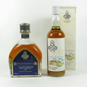 Chivas Queens Award for Enterprise 1990 and 1995 2 x 75cl front