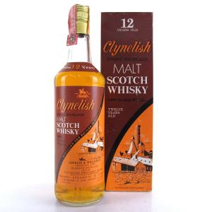 Clynelish 12 Year Old Ainslie and Heilbron Full Proof / Edward & Edward Import