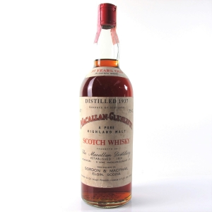 Macallan 1937 Gordon and MacPhail 33 Year Old / Pinerolo Import