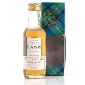 Port Ellen 1977 Gordon and MacPhail Cask Strength Miniature 5cl