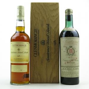 Glenmorangie 1981 Sauternes Wood Finish and Cruze Sauternes Circa 1970s