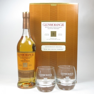 Glenmorangie 10 Year Old Gift Pack Including Tumblers Front