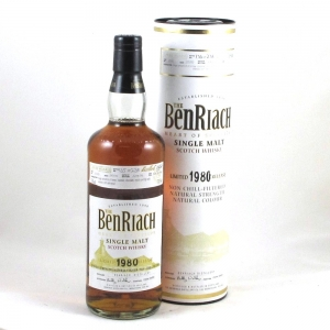 Benriach 1980 Virgin Oak Single Cask Front