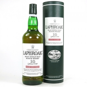 Laphroaig 10 Year Old Cask Strength