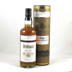 Benriach 1988 Virgin Oak Single Cask Front