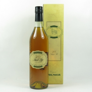 Prunier 20 Year Old X.O Cognac front