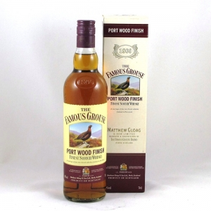 Famous Grouse Port Wood Finish