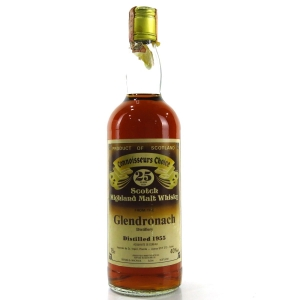 Glendronach 1955 Gordon and MacPhail 25 Year Old / Co. Pinerolo Import