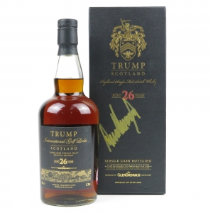 Glendronach 26 Year Old Trump International Scotland / Signed by Donald Trump