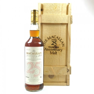 Macallan 1971 Anniversary Malt 25 Year Old Front