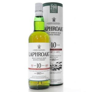 Laphroaig 10 Year Old Cask Strength Batch #007
